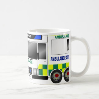 Ambulance UK Basic White Mug