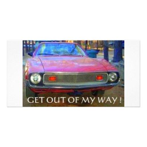 AMC 1974 AMX MUSCLE CARS CUSTOM PHOTO CARD