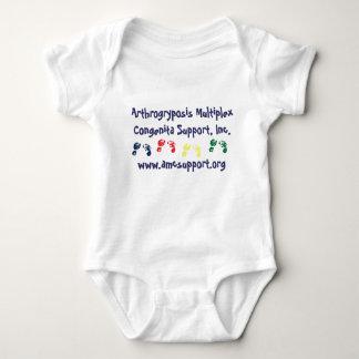 AMCSI blue letter onsie Baby Bodysuit