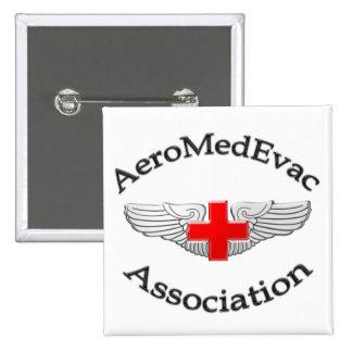 AMEA Logo 2009 version 15 Cm Square Badge