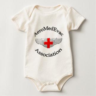 AMEA Logo 2009 version Baby Bodysuit