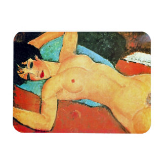 Amedeo Modigliani - Reclining Woman Vinyl Magnets