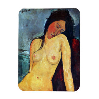 Amedeo Modigliani - Seated Female Magnet