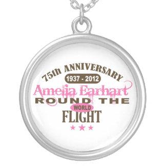 Amelia Earhart 75 Year Anniversary Pendant