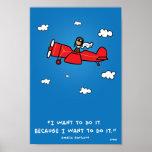 Amelia Earhart 8x12 poster (and same ratio)