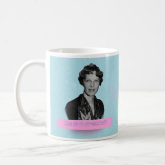 Amelia Earhart Historical Mug