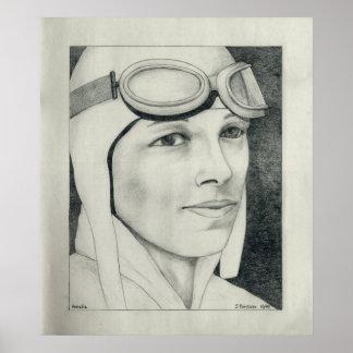 Amelia Earhart Posters