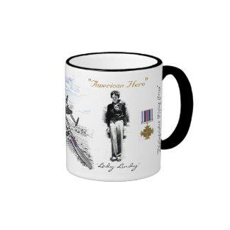 Amelia Earhart Ringer Mug