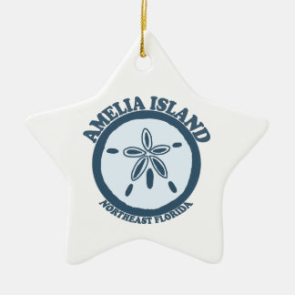 Amelia Island - Sand Dollar. Christmas Ornament
