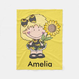 Amelia's Sunflower Blanket