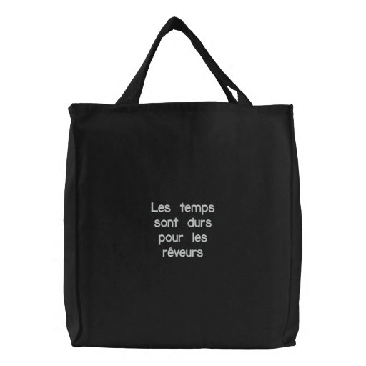 Amelie quote tote bag