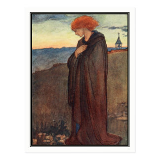 Amen by Florence Harrison Postcard