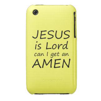 Amen Jesus Case iPhone 3 Cover