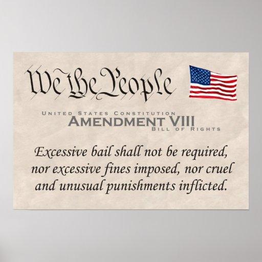 Amendment VIII Poster