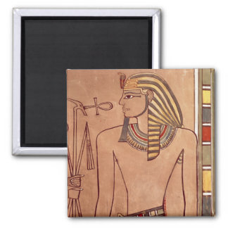 Amenhotep II  with an ankh raised to his lips Magnet