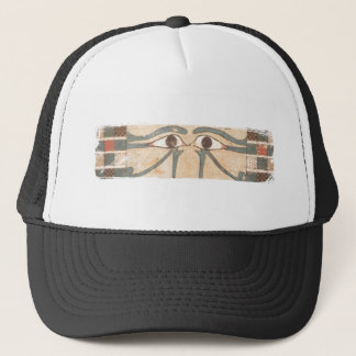 Amenhotep inner coffin blk trucker hat