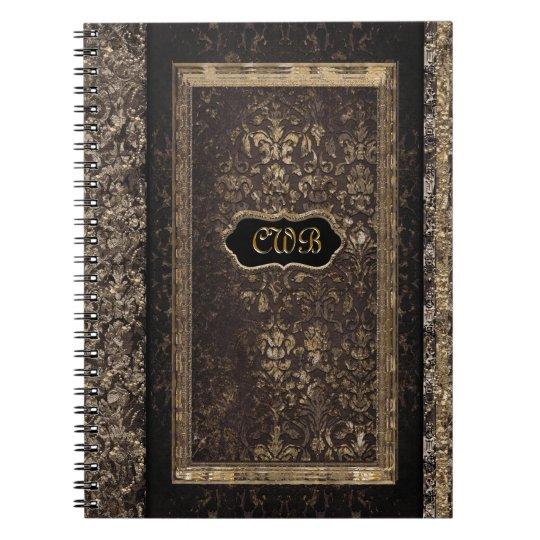 Ameran Jasper Victorian Spiral Notebook