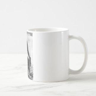 Ameranthropoides loysi classic white coffee mug
