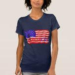 AMERCIA false flag design (America) Tshirts