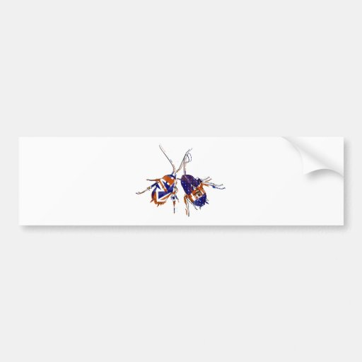 Ameri-Brit Cockroaches Bumper Stickers