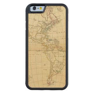 America 7 2 carved maple iPhone 6 bumper case