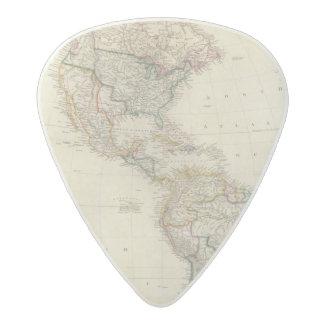 America 7 acetal guitar pick