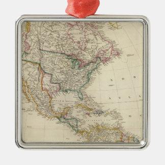America 7 christmas ornament