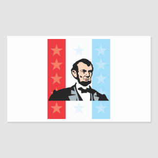 America - Abraham Lincoln President United States Stickers