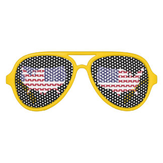 America Adult Aviator Party Shades
