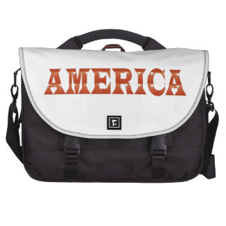 America American USA RED Artistic Base LOWPRICE Computer Bag