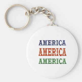 America American USA VALUE Artistic Base LOWPRICE Keychain