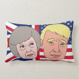 America and Britain Pillow Cushion