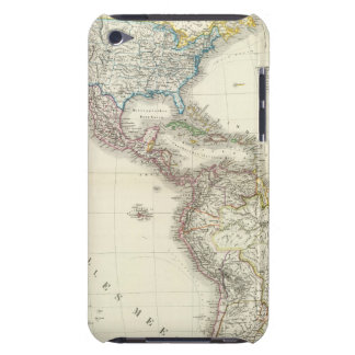 America Atlas Map Barely There iPod Case