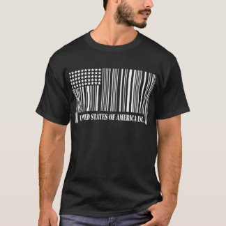 america barcode white T-Shirt
