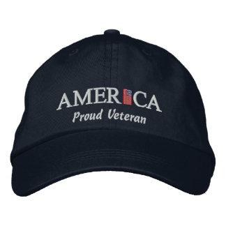America Baseball Cap - Proud Veteran