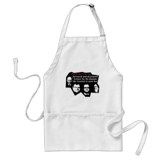 America betrayed and destroyed standard apron