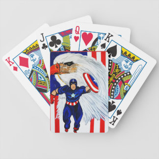 AMERICA BICYCLE PLAYING CARDS