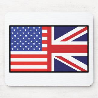 America Britain Mouse Pad