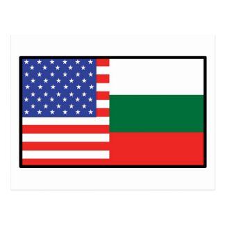 America Bulgaria Postcard