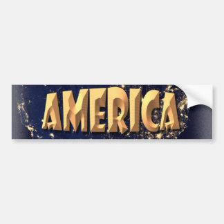America Bumper Stickers