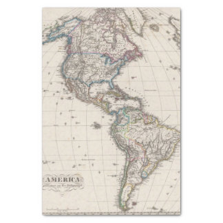 America by Stieler Tissue Paper