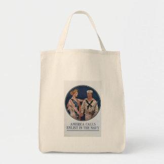 America Calls World War 2 Bag