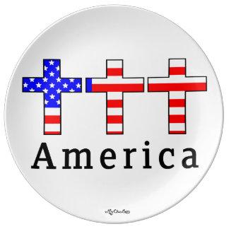 America Christianity! PLATE