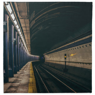 America City Manhattan Metro Ny Nyc New York Napkin