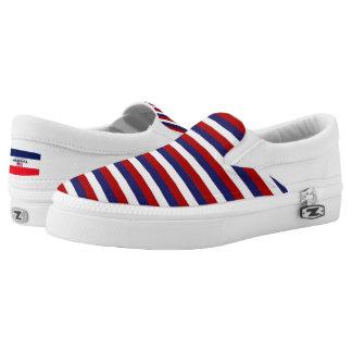 America Colours Flag Designer Modern Shoes Trend