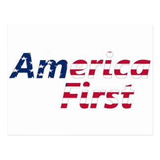 America First Postcard
