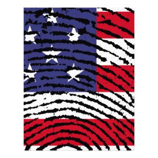 "America 8.5"" X 11"" Flyer"
