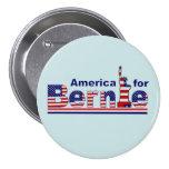 America for Bernie 7.5 Cm Round Badge