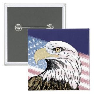 America Forgot 9-11 15 Cm Square Badge