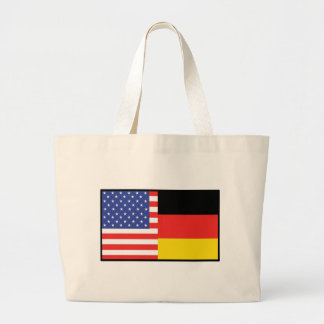 America Germany Large Tote Bag
